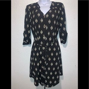 41 Hawthorn Merilyn Aztec print Shirt Dress sz XS